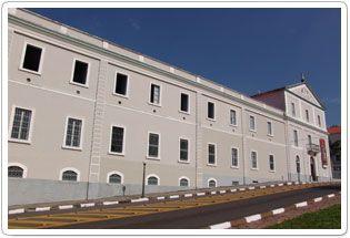 Imponente quartel de itu que abriga o regimento deodoro guarda em