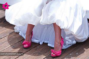 9293856ec Crédito: Renata Rapucci As noivas e seus sapatos coloridos