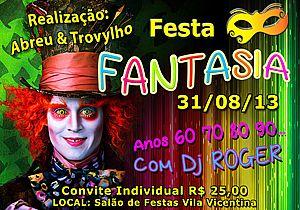 Vila Vicentina Promove Festa A Fantasia Itu Com Br