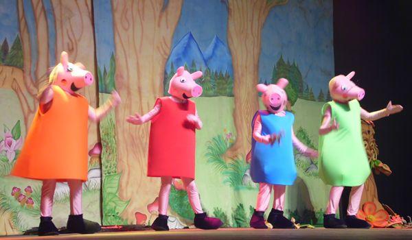 """Peça """"Peppa Pig em Os Três Porquinhos"""" terá duas sessões"""